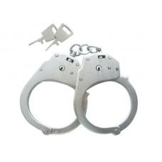 Конвойные наручники БР-1КФ Краб с фиксатором: (оцинкованные)