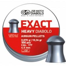 Пули JSB Exact Heavy Diabolo 4,5 мм 500 шт