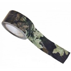 Лента камуфляжная Allen листва 18м (ширина 5 см) № А43