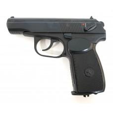 Пневматический пистолет МР-654К (ПМ, черная рукоять)