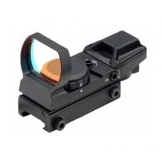 Коллиматорный прицел Target Optic 1x22x33, открытый, на Weaver